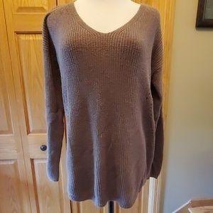 Brown sz L ana sweater.